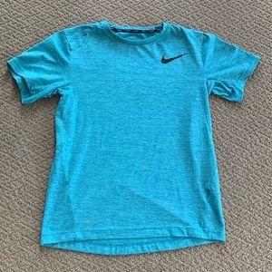Nike Light Blue Dri-Fit T-Shirt